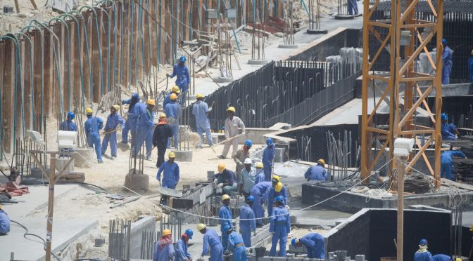 Migrant workers in the Middle East